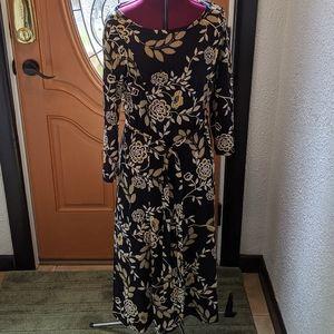 Nina Leonard dress